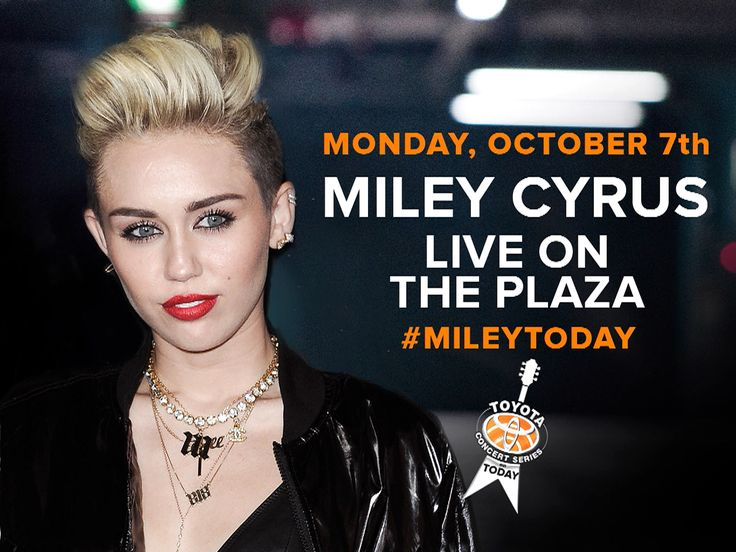 She can't stop: Miley Cyrus to sing her hits on TODAY on Oct. 7