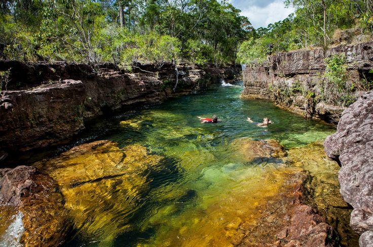 Elliot Falls Cape York Queensland