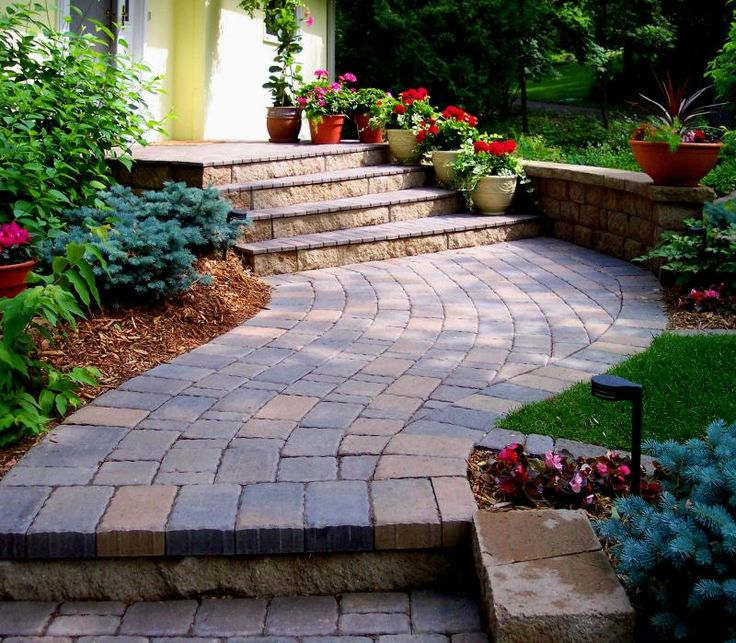 Concrete Front Yard Landscaping: 197 Best Images About Curb APPEAL On Pinterest