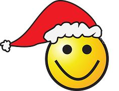 Christmas, Smiley, Xmas, Hat