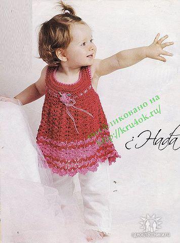 399 best Häkelkleidung Kind & Baby / crochet dresses baby & Kids ...