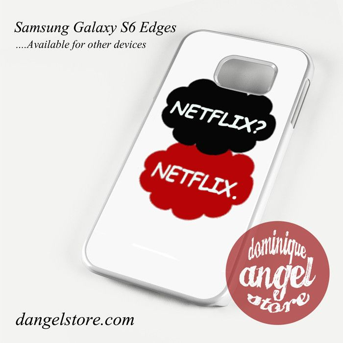 Netflix Netflix Phone Case for Samsung Galaxy S3/S4/S5/S6/S6 Edge/S6 Edge Plus