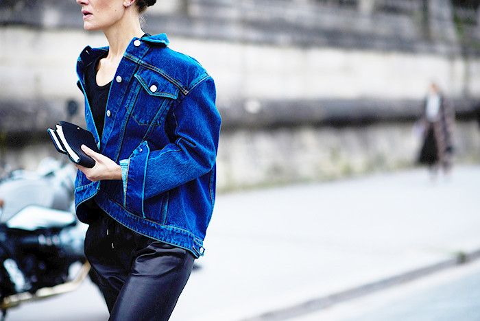 The One Item Everyone Is Wearing in Paris Right Now via @WhoWhatWear