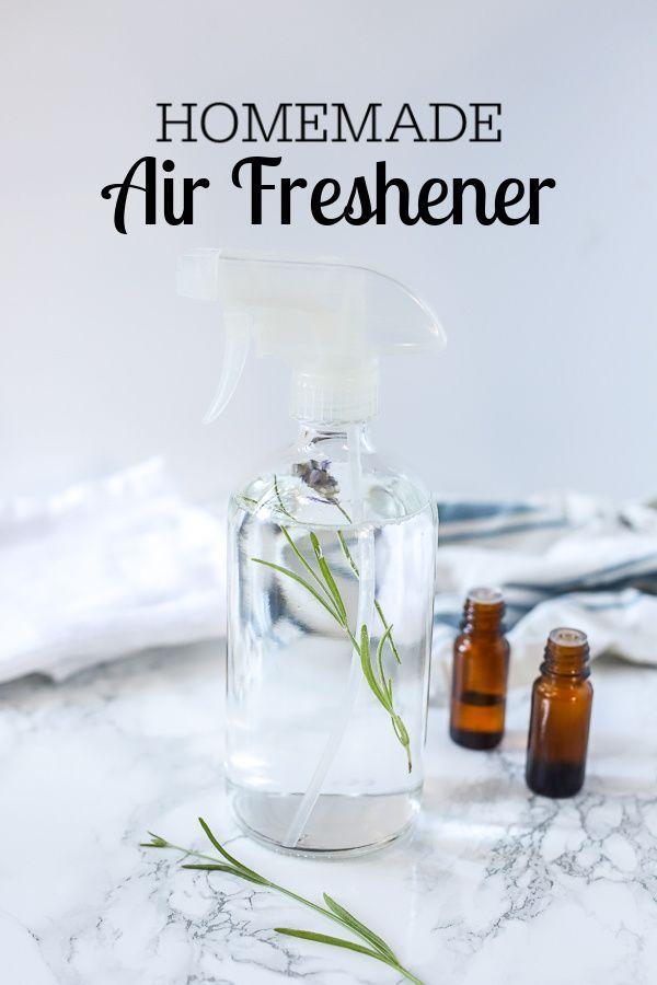 Homemade Air Freshener Natural Room Spray Homemade Air