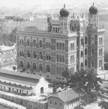 Castelo Mourisco começou a ser construído em 1905. Sede da Fundacao Oswaldo Cruz - Fiocruz