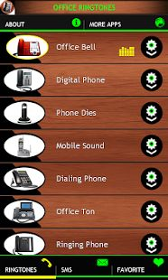 Office Ringtones app contains best ringtones, SMS and notification sounds suitable for office and workplace. This cool app includes shorter tunes as well as long office phone sounds and classic phone ringing at various sound levels. Download free here https://play.google.com/store/apps/details?id=com.bestenergyringtones.officeringtones