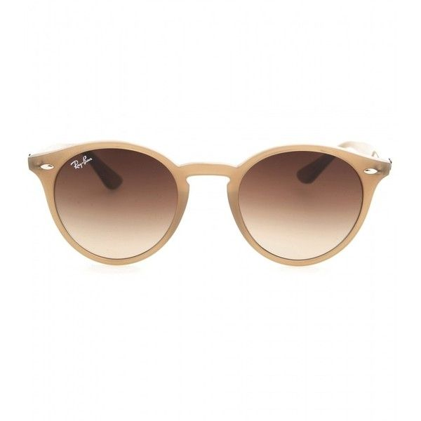ray ban round frame acetate sunglasses  ray ban rb2180 round sunglasses ($170) ? liked on polyvore featuring accessories,