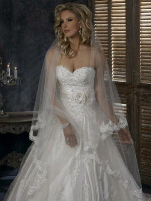 Applique Bröllop Slöjor