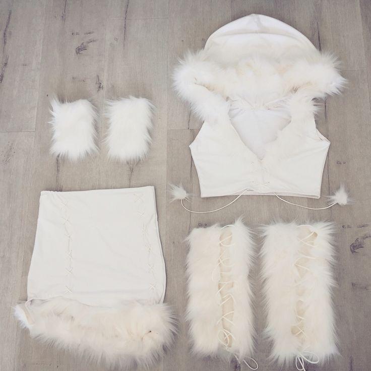 Eskimo costume snow white princess Kylie Jenner Halloween costume handmade email nanibikini@gmail.com to order