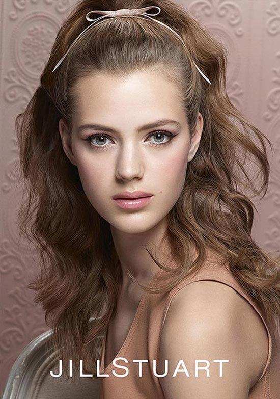 Jill Stuart Ribbon Couture Spring 2015 Makeup Collection  #makeup