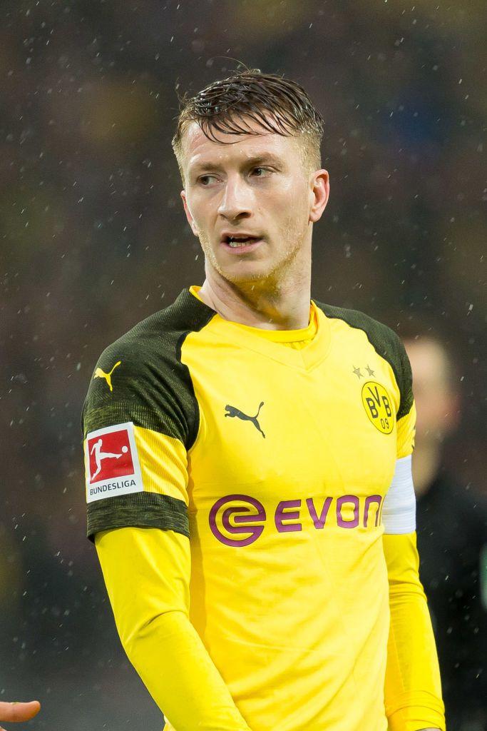 Dortmund Germany March 09 Marco Reus Of Borussia Dortmund Looks On During The Bundesliga Match Between Borussia Dortmund An Borussia Dortmund Dortmund Reus
