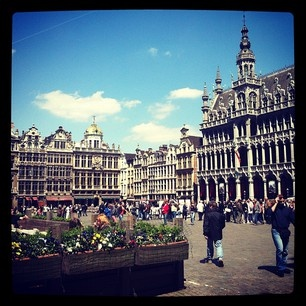 Brussels in the afternoon.