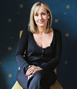Awesome because she believed in her ability to write books and get published, despite the odds. J.K. Rowling