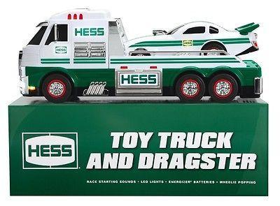 2016 Hess Toy Truck & Draggster Innovative Design Super Brilliant LED Lights