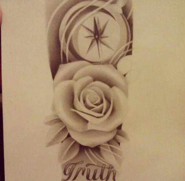 Tattoo sketch. Half sleeve. | tattoos , sketches , and ...