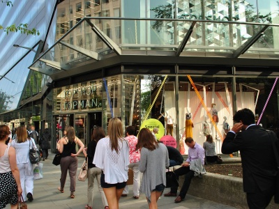 One New Change - new shopping centre in London EC4