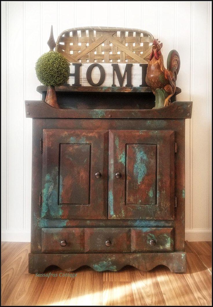 Dixie belle paint company patina paint rusty patina