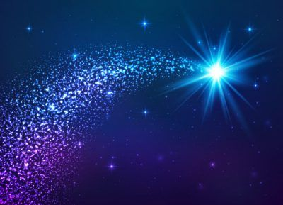 imagenes de estrellas fugaces