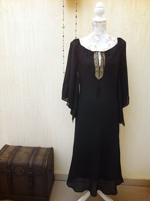 Jurk vintage-jurk negro-vestido vintage-jurk door VintageBeachHut