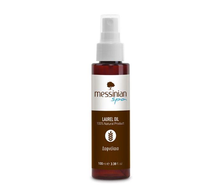 Organic laurel oil
