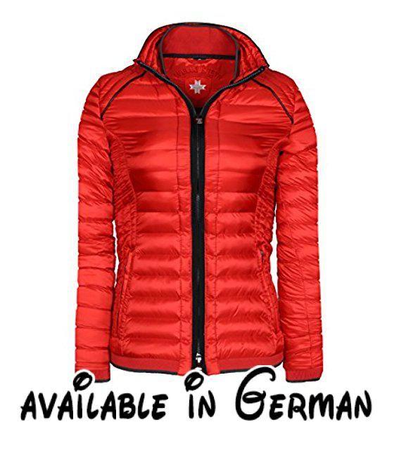 Wellensteyn Damen Jacke Molecule Lady Rot (Redmetal Rme), X-Small. Schmaler, taillierter Schnitt. zwei Seitentaschen per Zipper verschließbar #Apparel #OUTERWEAR