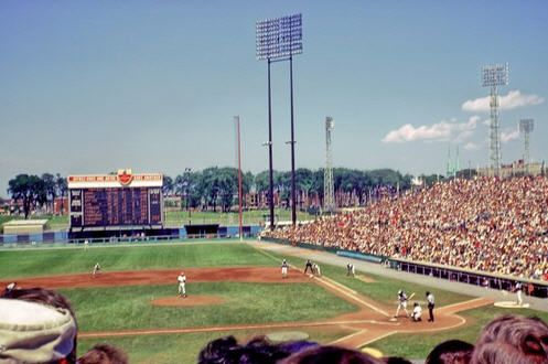 Jarry Park - history, photos and more of the Montreal Expos former ballpark