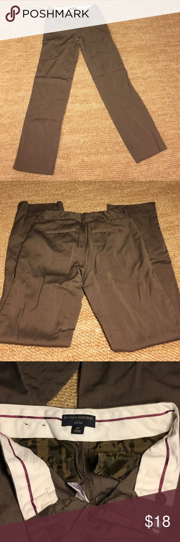 Banana Republic Trousers Rarely worn petite trousers straight leg Banana Republic Pants Trousers