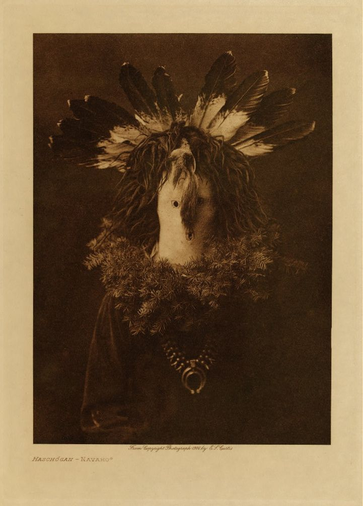 Navaho Fascinating Pictorial Record of North American Indian Tribes in the Early 1900s - My Modern Met