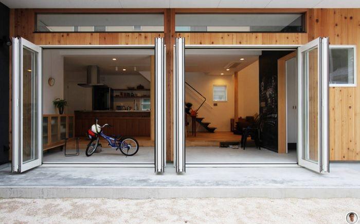 お部屋のアイデア見つけたよ! 図書館・リビング・玄関など千変万化な「土間」 | roomie(ルーミー)