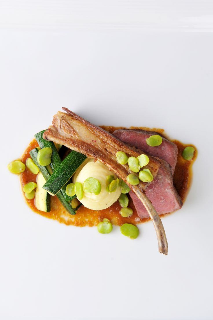 James Sommerin's stunning lamb with celeriac recipe is a dream come true for most carnivores, comprised as it is of both lamb loin and rib. You need to build your own indoor barbecue for this recipe to produce perfect smoky lamb to go with the slow-cooked celeriac and sticky tomato jam. Be careful when attempting this recipe - safety first!
