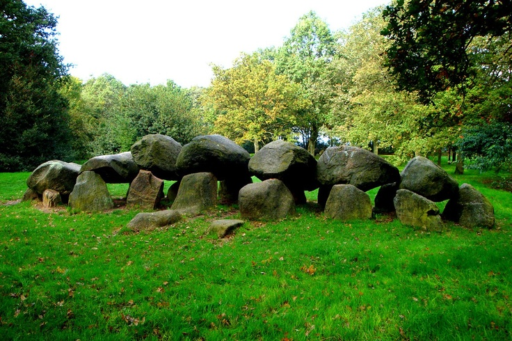 Hunnebedden-graves of giants- Rolde, Drenthe, Netherlands, circa 3500 BC