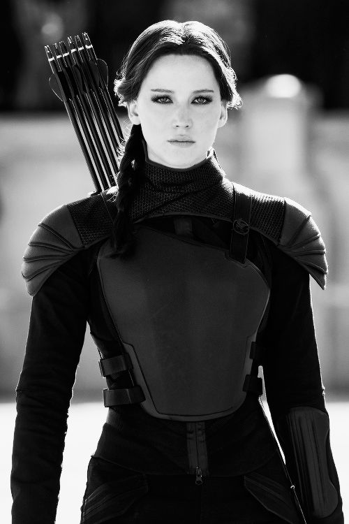 the flawless rebel herself!!! Katniss everdeen