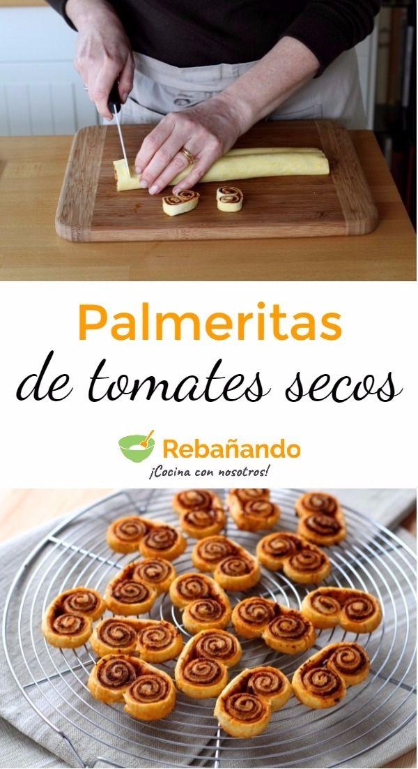 ¡Las palmeritas gustan a todos! Las más populares son las clásicas con azúcar o las irresistibles de chocolate; ¿Por qué no probar a realizar la versión salada de estas palmeritas?