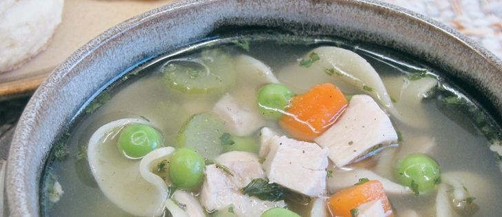 Using chicken broth with no salt added can help keep your daily intake of sodium within a healthy range.       Betty Ann Deobald photo
