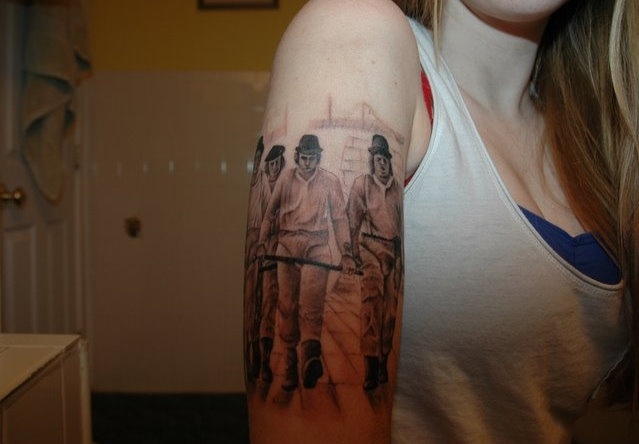 32 best images about tattoo on pinterest sleeve a for Clockwork orange tattoo