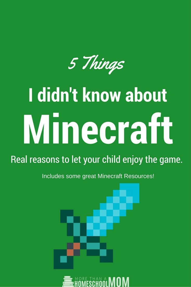 5 Things I didn't know about Minecraft