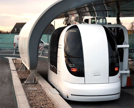 Green Mass-Transit System Ready To Roll at Heathrow