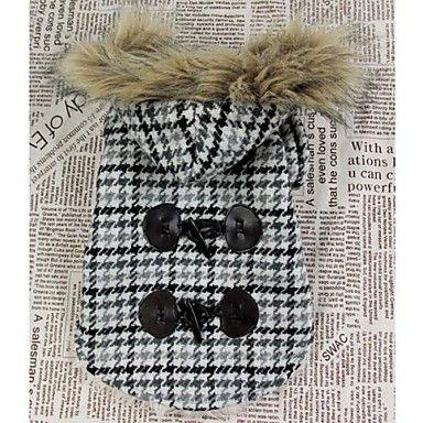 abrigo clásico para perro