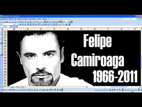 MS Excel: Felipe Camiroaga