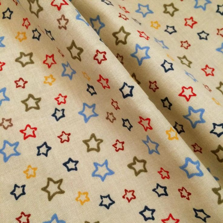 1*1.6m 100% Cotton twill Five-pointed star classic fabrics DIY For sewing  kids chic Bedding Textile Quilting table cloth