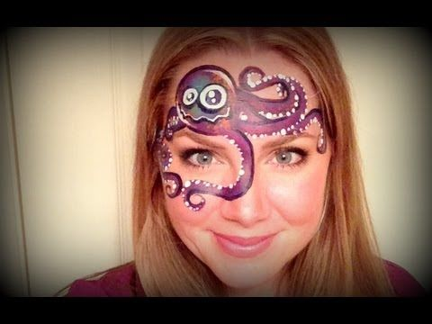 ▶ Silly Octopus - Face Painting Tutorial - YouTube