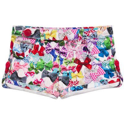 Paper Wings girls Heart Pocket Shorts