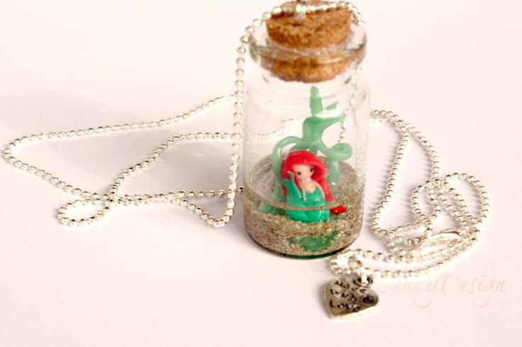 Ariel In Bottle Necklace for @Jacqueline Maxwell ;)