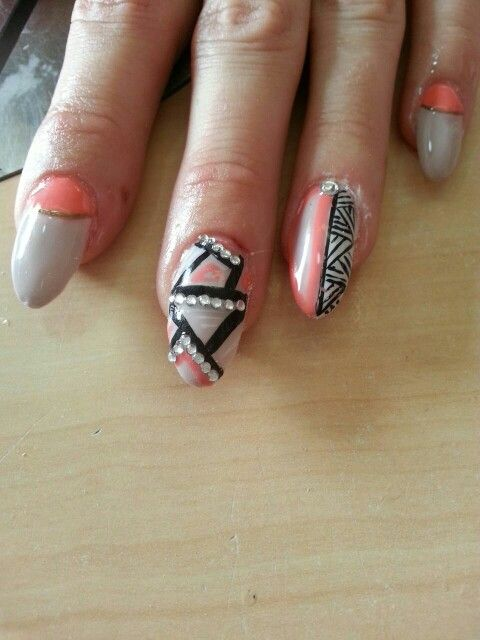 Nail art, by marie