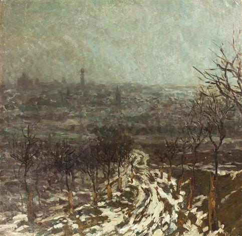 Pohled na Kutnou Horu, 1909