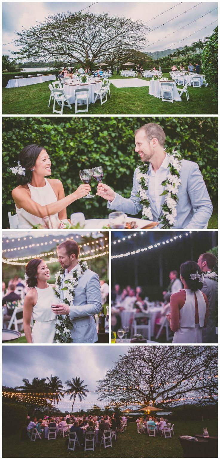 Day to Night, Wedding at Kualoa Ranch, Oahu | Photo Credit: Jenna Lee