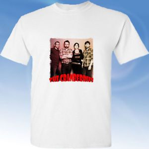 The Cranberries in memoriam Dolores O'Riordan white tee shirt