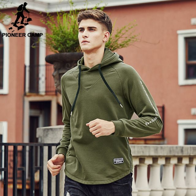 Check it on our site Pioneer Camp 2017 Brand clothing Sweatshirt  Hoodie Hoodies men Army green Hoodie male quality Men's Tracksuits  699049 just only $26.34 with free shipping worldwide  #hoodiessweatshirtsformen Plese click on picture to see our special price for you