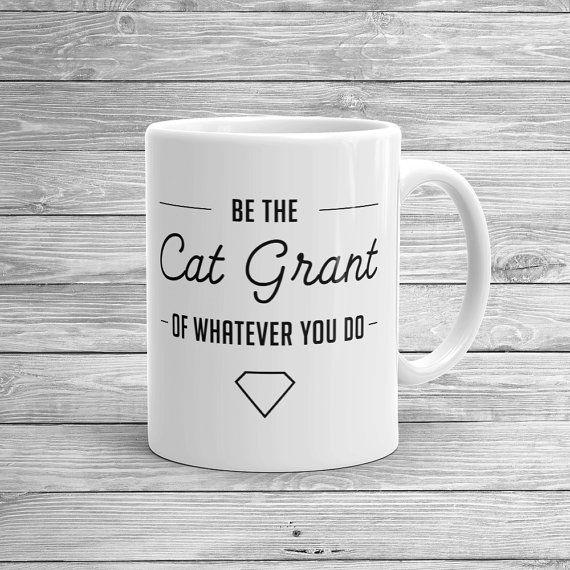 Cat Grant Mug / / Supergirl TV Show / / Catco