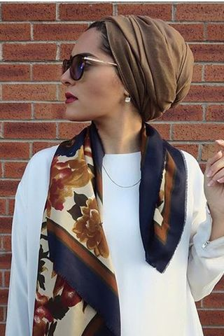 30 Modern and Stylish Hijab Wrap Ideas for Women with Oval Faces